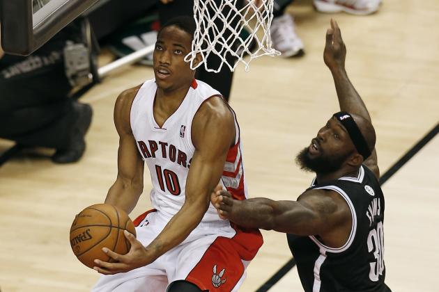 DeRozan Scores 36 as Raptors Beat Nets 93-87