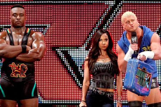 Dolph Ziggler Can't Keep Both AJ Lee and Big E Langston in His Corner