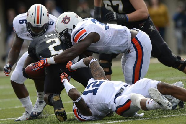 Auburn Football: Ability to Attack on D Will Lead to More Takeaways in 2013