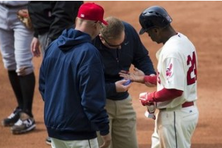Michael Bourn May Miss a Week with Finger Laceration