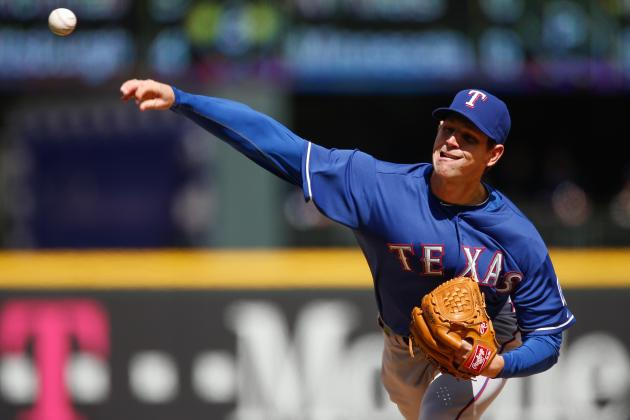 Rangers' Tepesch Follows Sterling Debut with Loss to Seattle 4-3