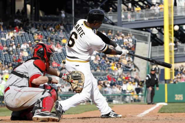 Pirates rally from five runs down to beat Reds, 10-7