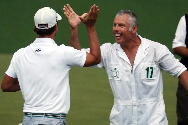 Steve Williams Caddies for His Fourth Masters Win