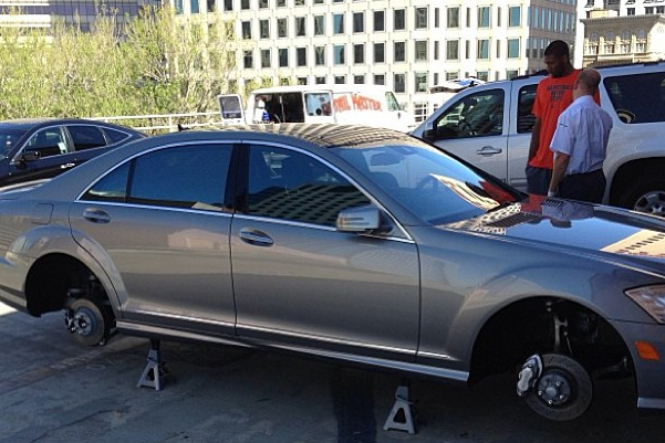 Warriors Teammates Punk Festus Ezeli, Hide Car's Tires in Name of Rookie Hazing