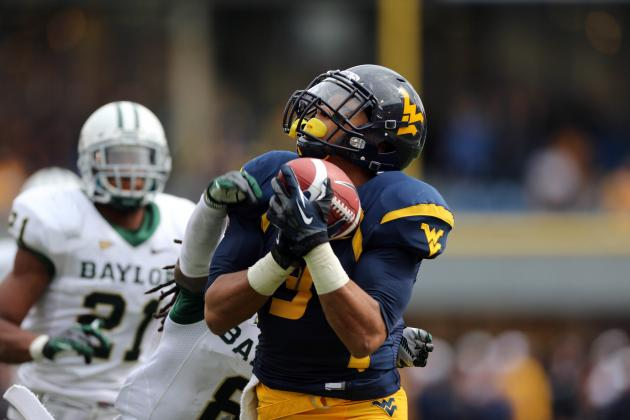 Geno Smith Is Bringing Stedman Bailey to the Draft