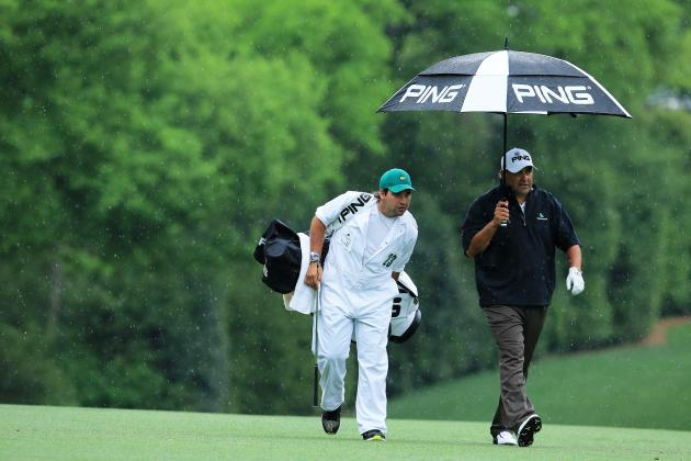 Angel Cabrera's Son as His Caddy Was the Biggest Feel-Good Story of 2013 Masters