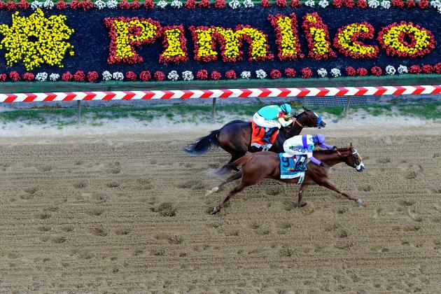Jockey, Horse Take Wild Detour at Pimlico, Just Miss Winner's Circle