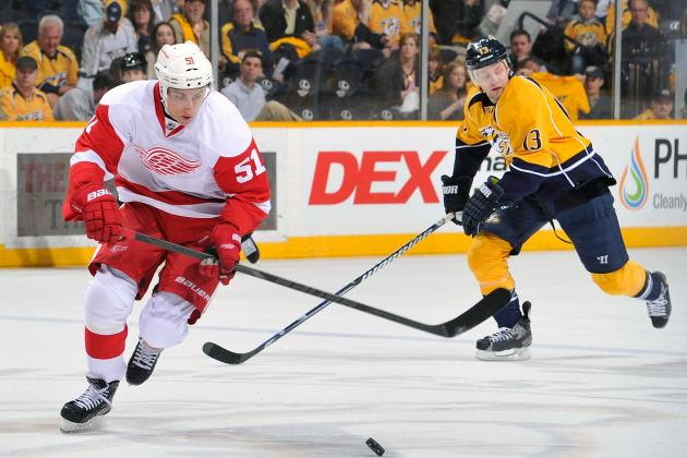 Predicting Which Detroit Red Wings Will Leave in the Offseason