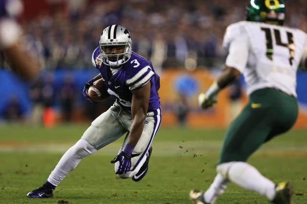 Chris Harper Scouting Report: NFL Outlook for Kansas State WR
