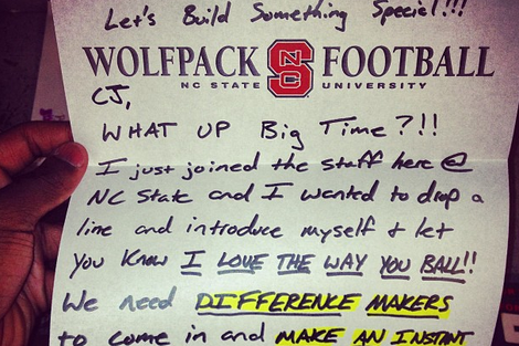 What a Recruiting Letter Looks Like -- and What It Should Say
