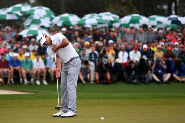 Does Adam Scott's Long Putter Mean His 2013 Masters Win Comes with an Asterisk?