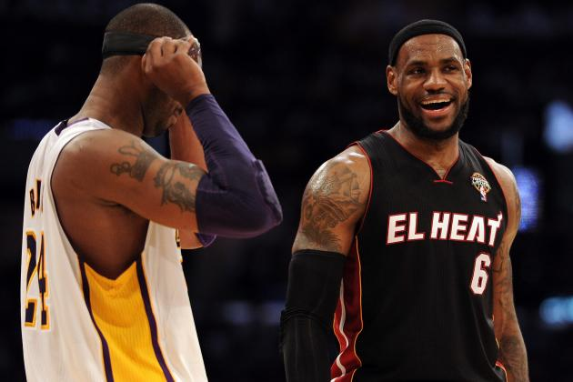 LeBron on Kobe: Can't Worry About Injuries