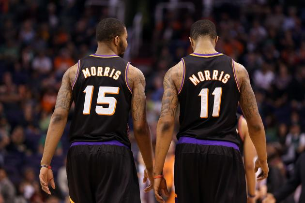 Do Morris Twins Have a Future with Phoenix Suns Other Than as a Gimmick?