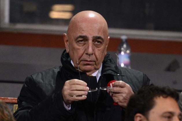 Galliani Content with Napoli Point