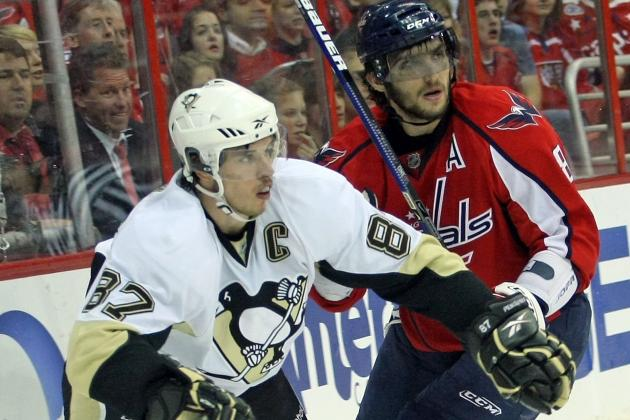 Who Is the NHL Hart Trophy Favorite: Alex Ovechkin or Sidney Crosby?