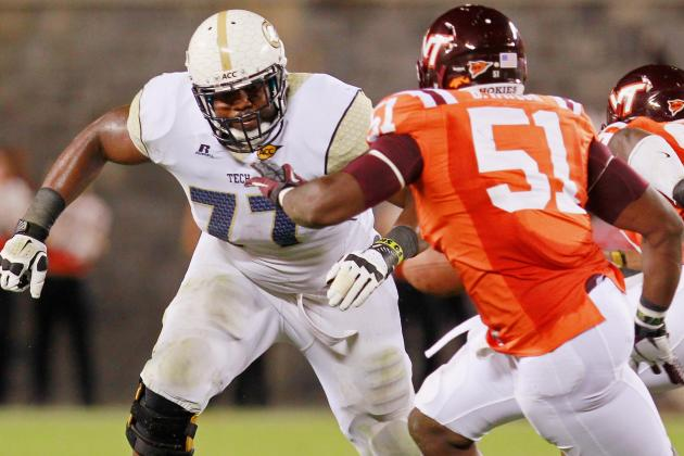 Omoregie Uzzi Scouting Report: NFL Outlook for Georgia Tech Guard
