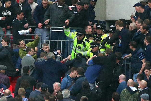 Millwall and Newcastle Fans Take English Football Back to the Dark Ages