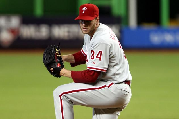 Win No. 200 for Halladay as Phillies Beat Marlins 2-1
