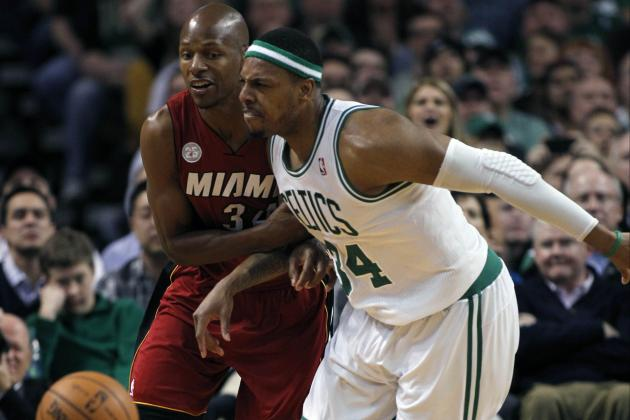 Paul Pierce Still Angry with Ray Allen's Decision to Leave Boston