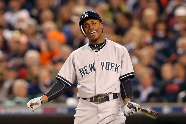 Yankees' Granderson Yet to Swing, Unsure About Timetable