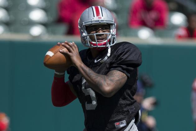 Buckeyes Get Good Signs from Growing Braxton Miller in Spring Game