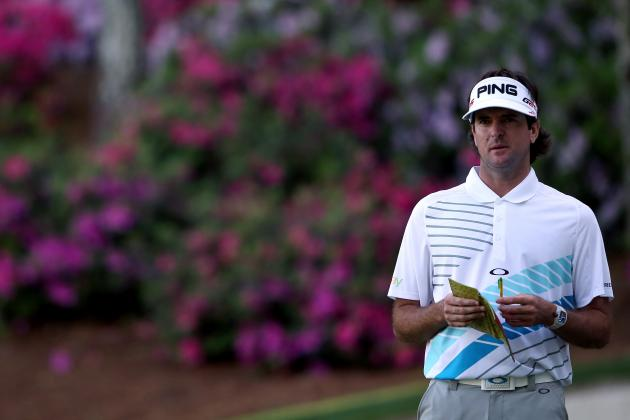 Bubba Watson Shot a 10-Stroke Hole at the Masters on Sunday