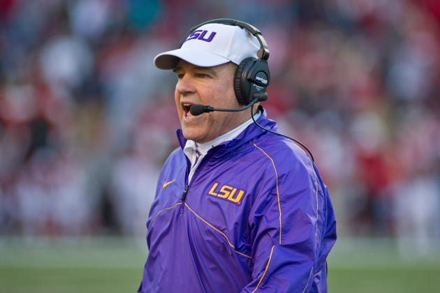 LSU's Defense Getting a Workout Chasing New Offense