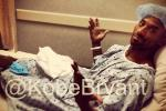 Pics from Kobe's Achilles Surgery