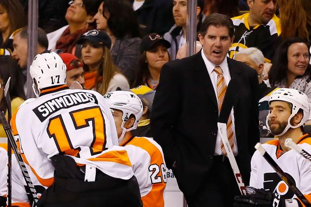 Looks Like Lavy Staying as Flyers' Coach