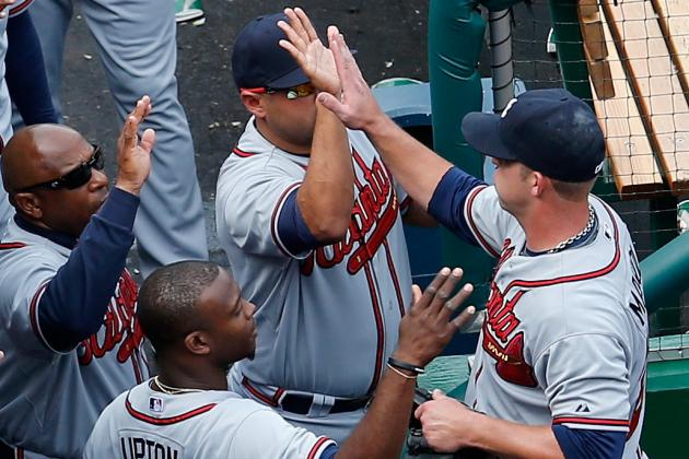 Braves React to Sunday's Win