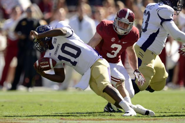 Versatility Is Prized in Alabama's 'special' Secondary, Safety Sunseri Says