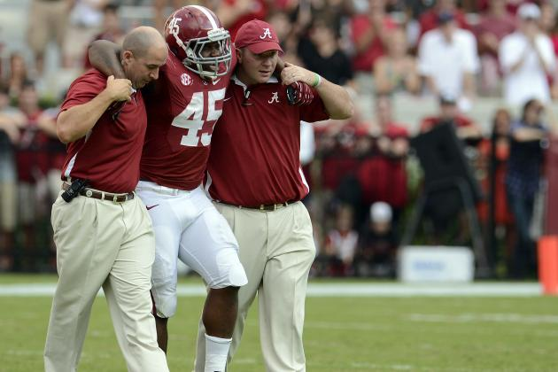 Jalston Fowler Has 'Made Good Progress' Nick Saban Says