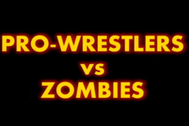 Trailer for 'Pro Wrestlers vs. Zombies' Featuring Kurt Angle, Matt Hardy & More