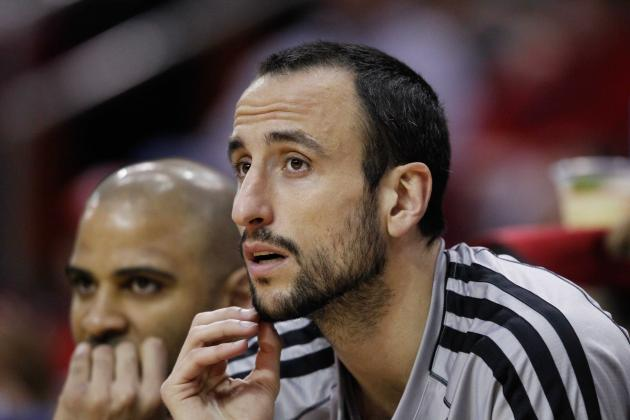 Ginobili Frustrated with Injuries