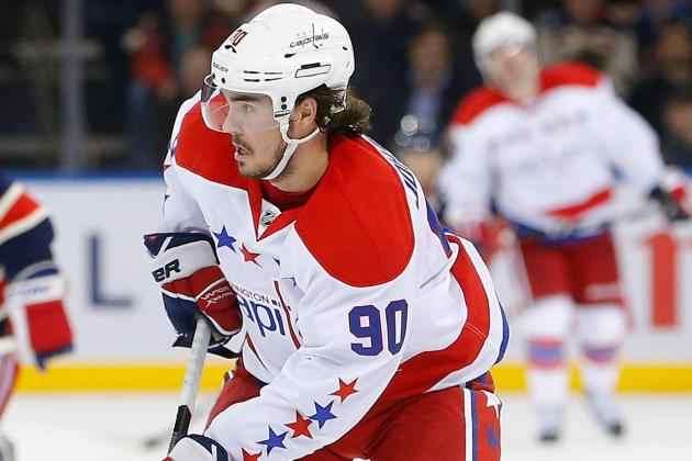 Marcus Johansson 'a Little Sore,' Leaves Practice Early