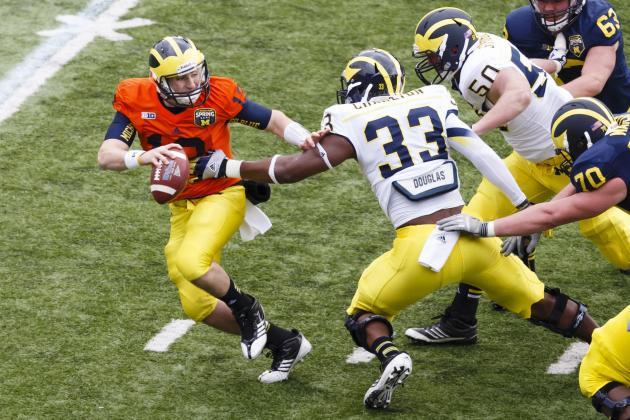 Michigan Football Team, Scheme Taking Shape