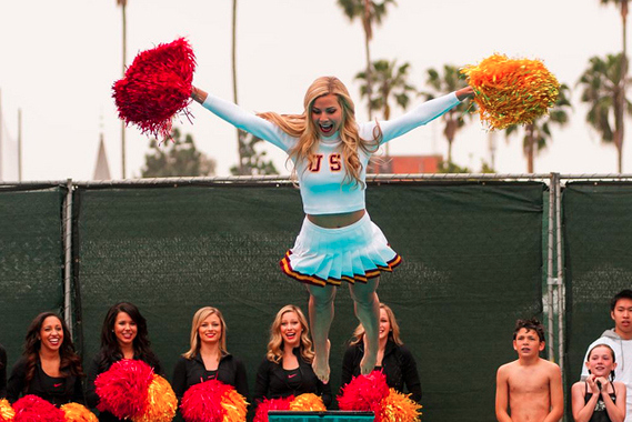 2013 USC Song Girls Swim with Mike [PHOTOS]