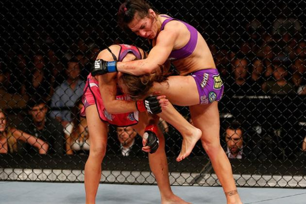 Cat Zingano Addresses Knee Strikes, Stoppage: 'Miesha Should Drop It'