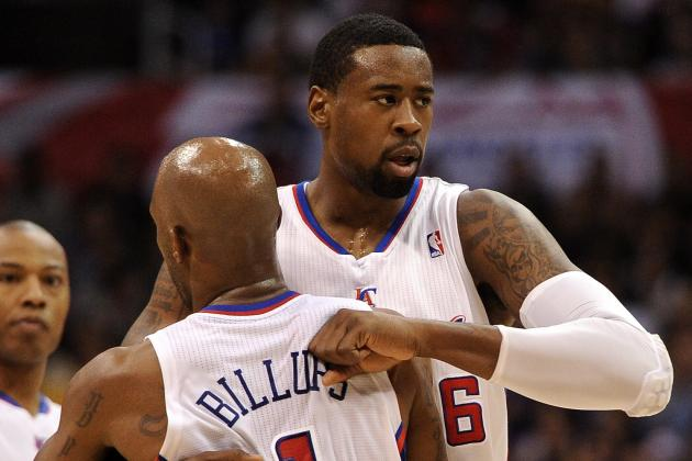 Clippers' Chauncey Billups and DeAndre Jordan Use the Buddy System