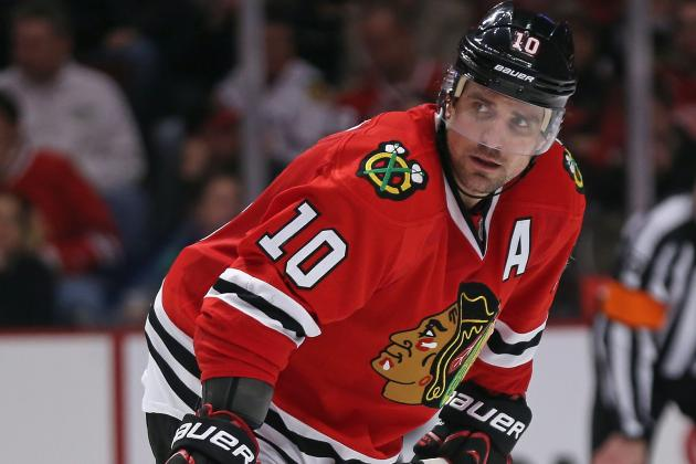 Quenneville on Injured Blackhawks Forward Patrick Sharp: 'He Should Be Fine'