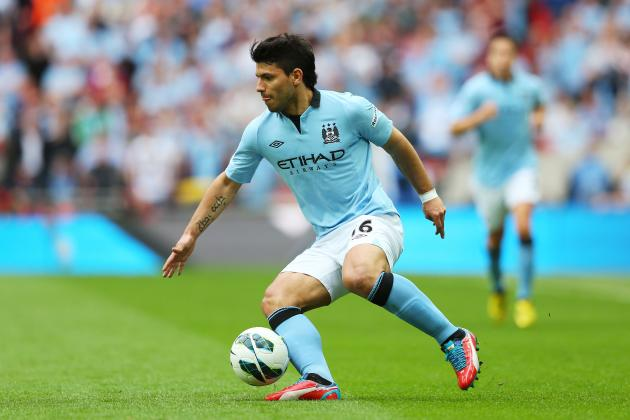 Sergio Aguero Stamp: Why Manchester City Striker Deserves to Be Banned
