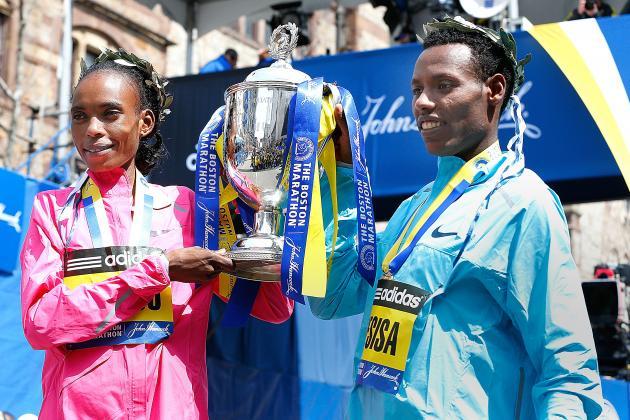 Lelisa Desisa, Rita Jeptoo Win Boston Marathon