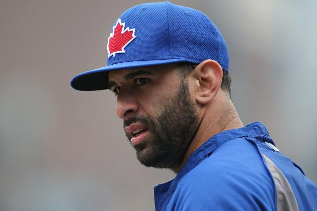 Jose Bautista Scratched from Lineup