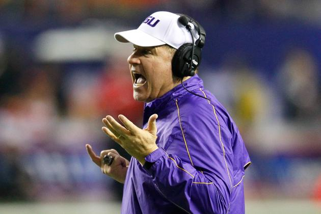 Offense Shines at LSU Football Scrimmage