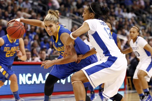 Elena Delle Donne Selected 2nd Overall in WNBA Draft by Chicago Sky