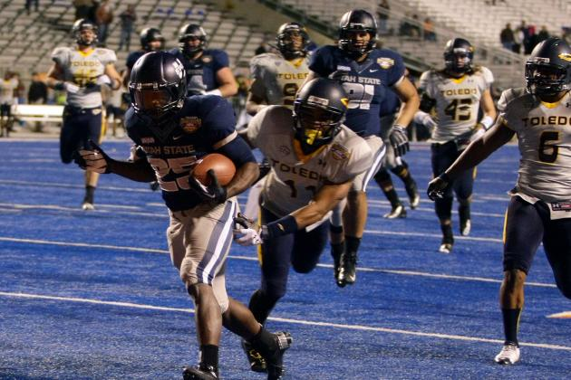 Kerwynn Williams Scouting Report: NFL Outlook for Utah State RB
