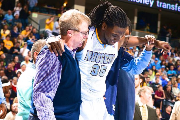 Kenneth Faried Injury: Updates on Denver Nuggets Forward's Ankle