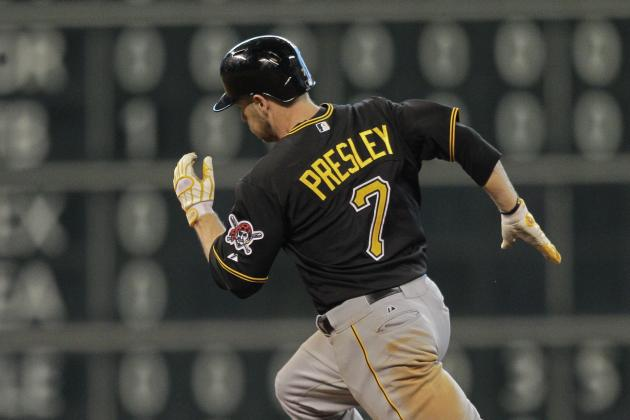 Pirates Recall Outfielder Presley