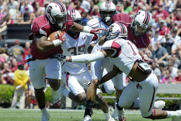 Youngsters Stepping Up at South Carolina