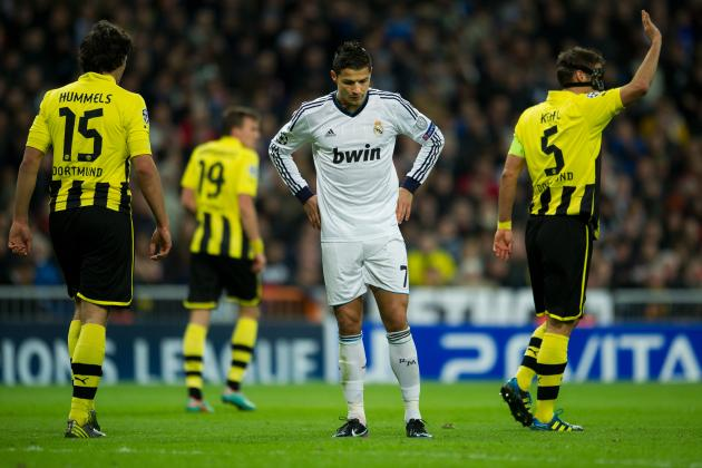 Cristiano Ronaldo's Effectiveness Will Be Shut Down by Dortmund's Gritty Defense